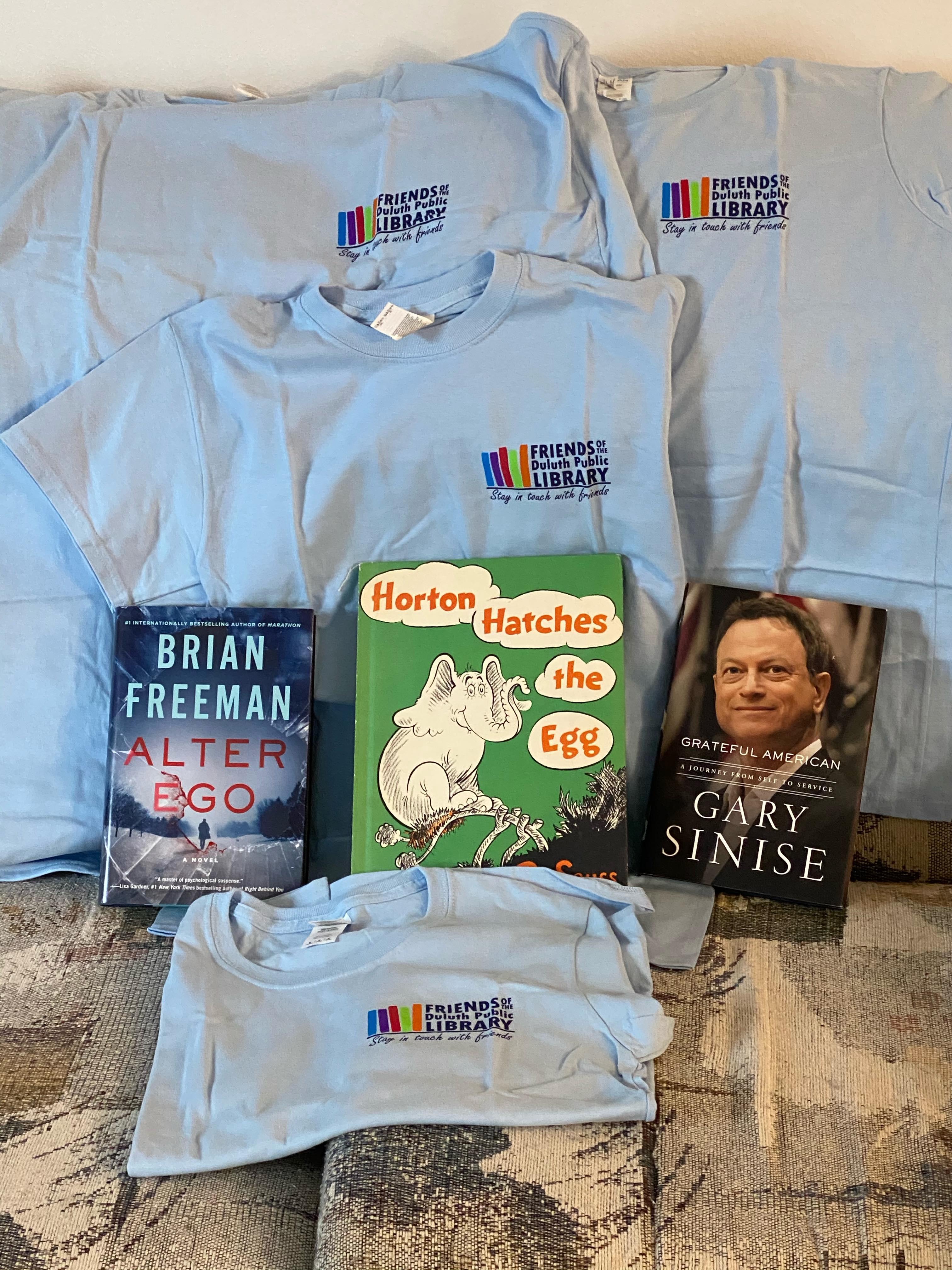 library tshirts
